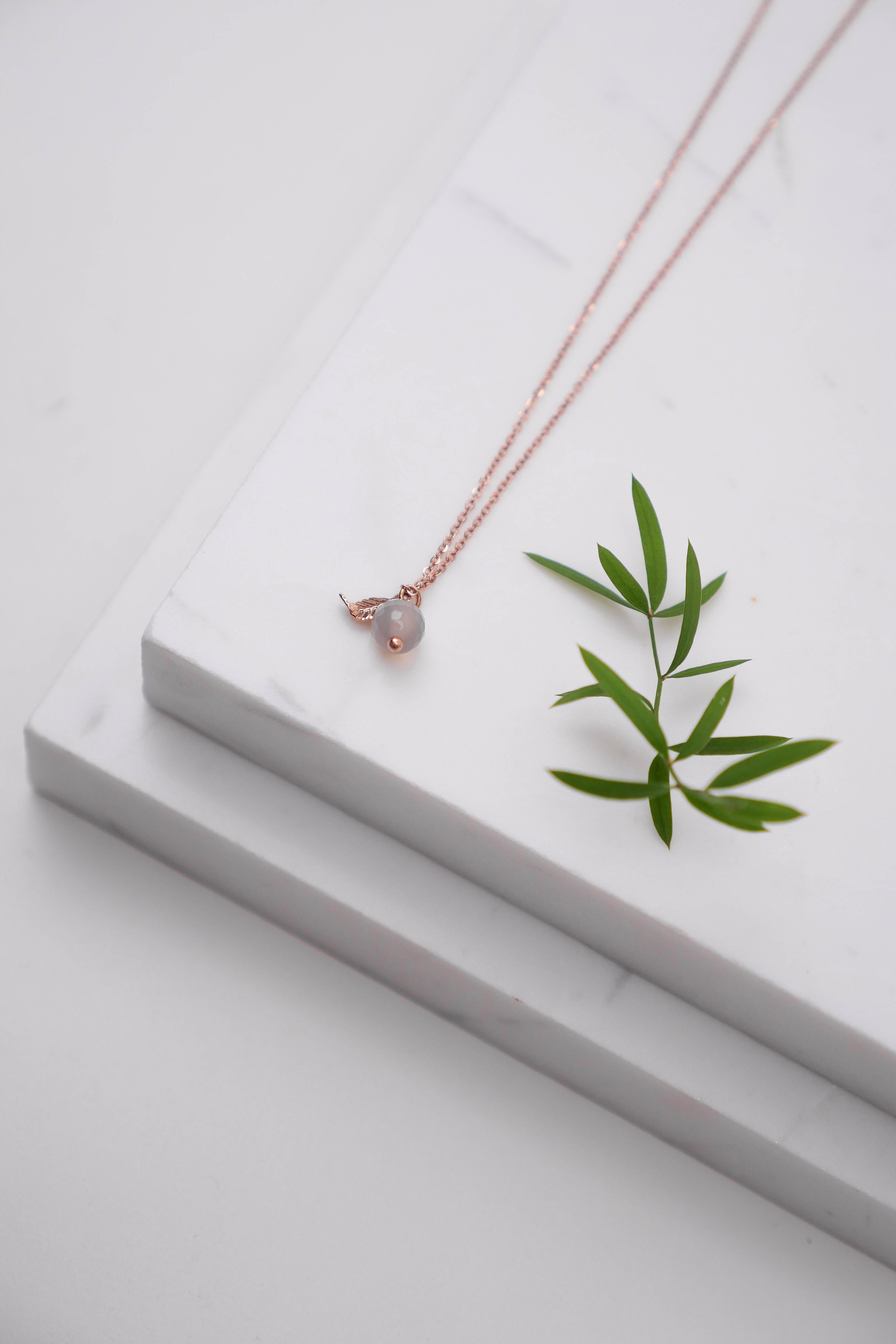 Necklace Pauline (rose gold plated)