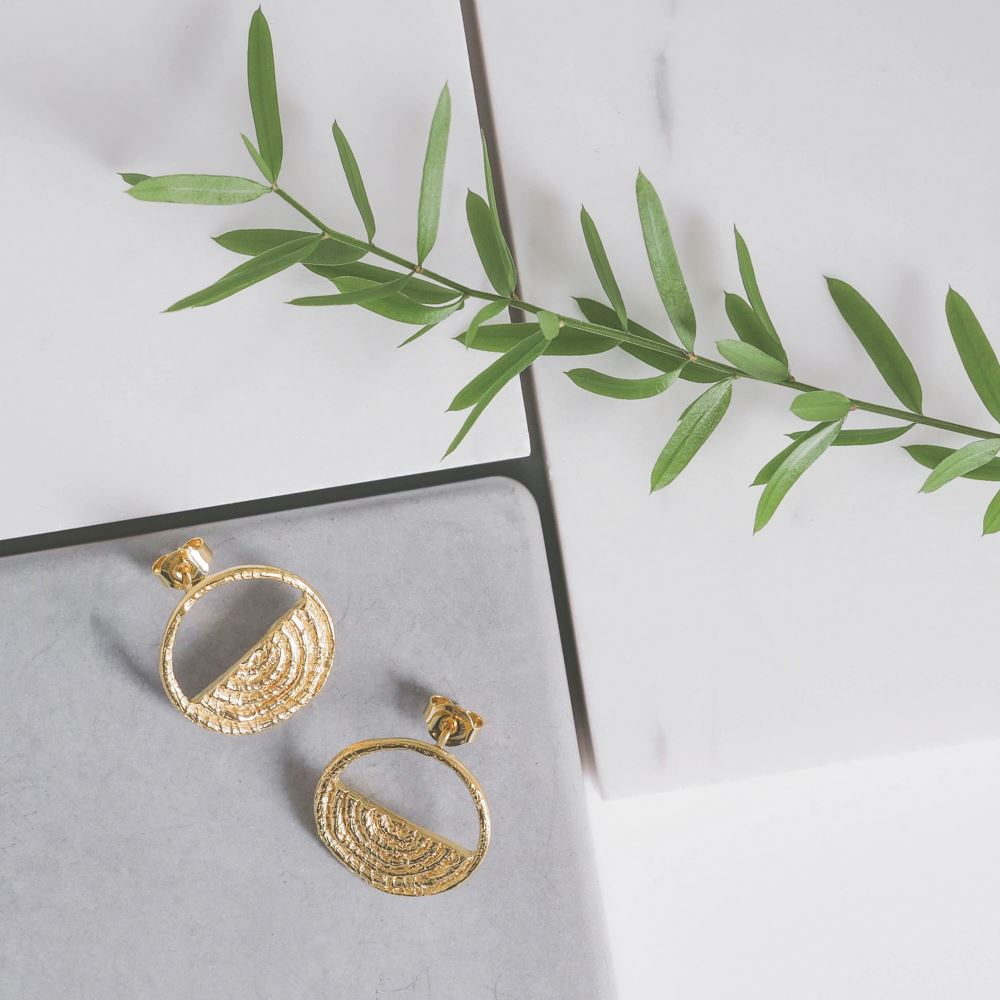 Earrings Hani (gold plated)