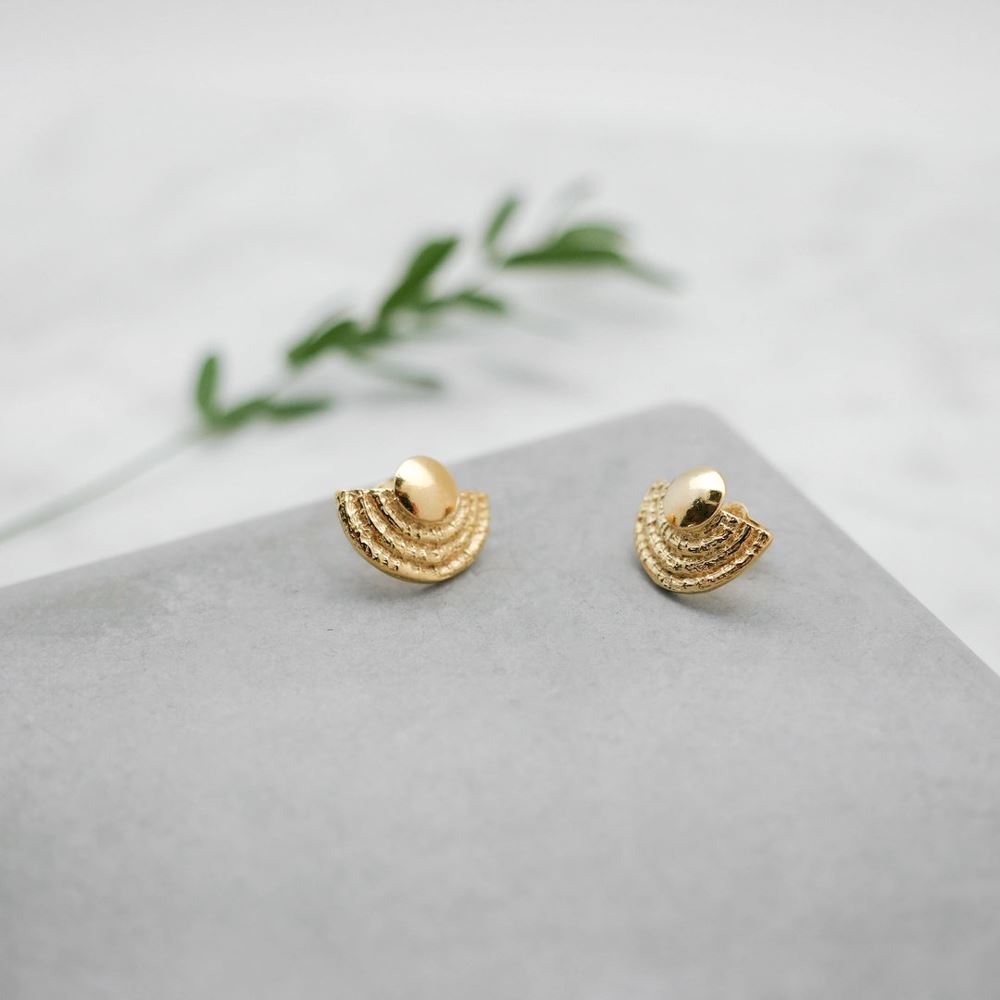 Earrings Eïdi (gold plated)
