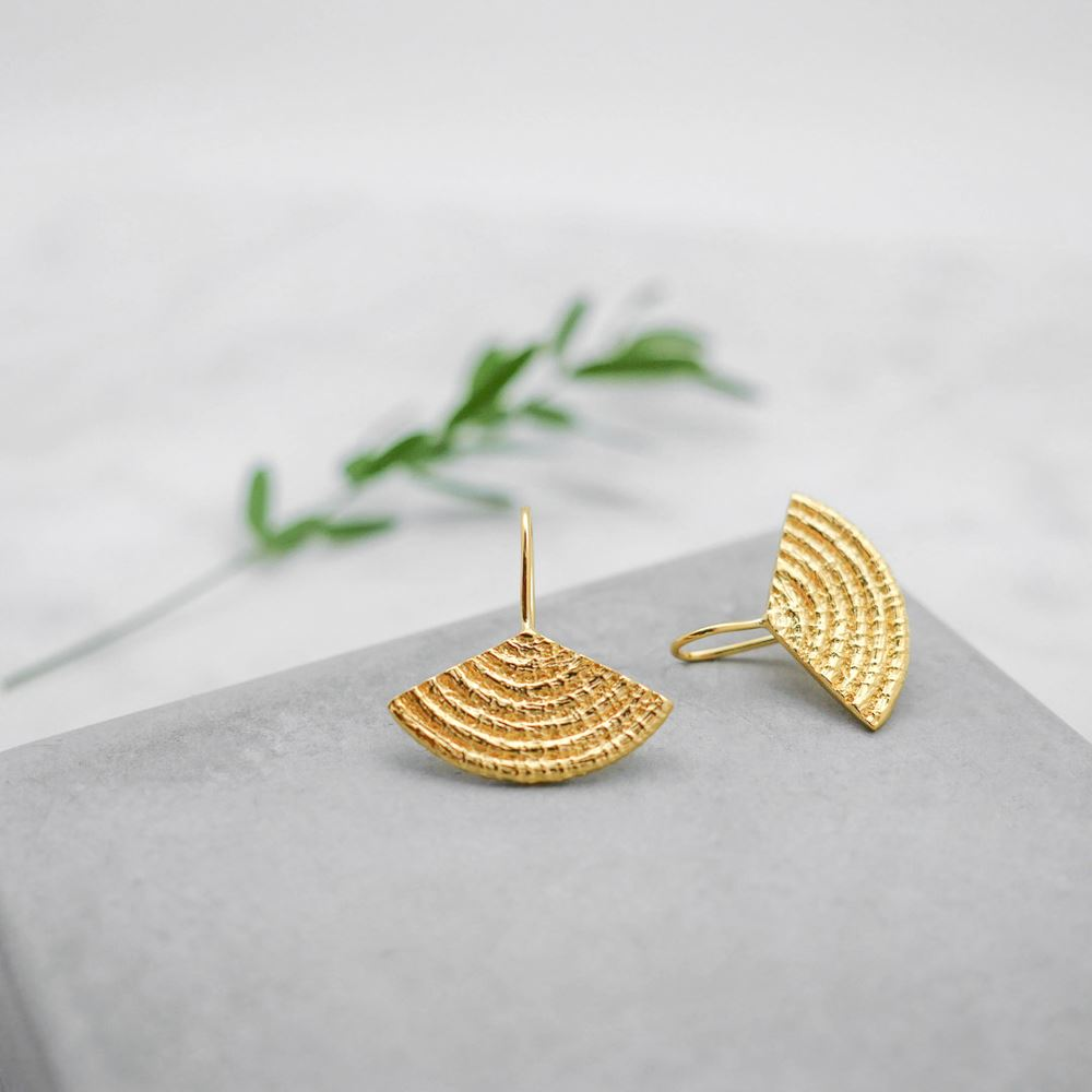 Earrings Diara (gold plated)