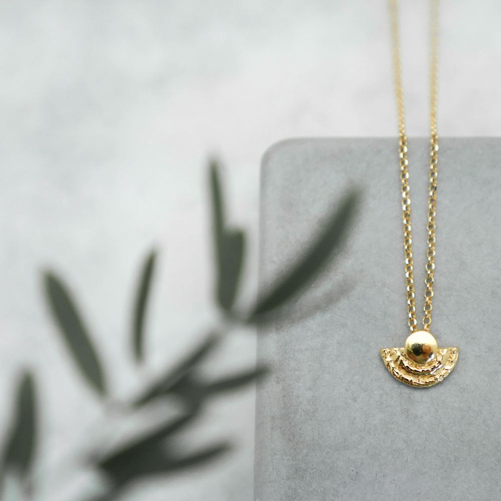 Necklace Eïdi (gold plated)