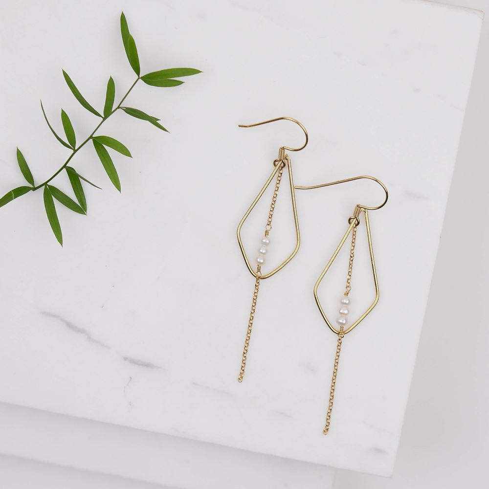Earrings Jude (gold plated)