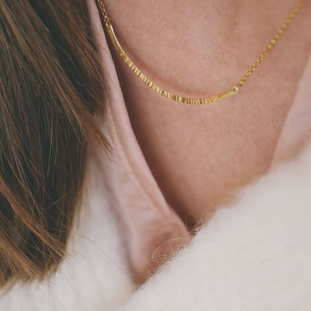 "Necklace ""Fée Clochette"" (18ct gold)"