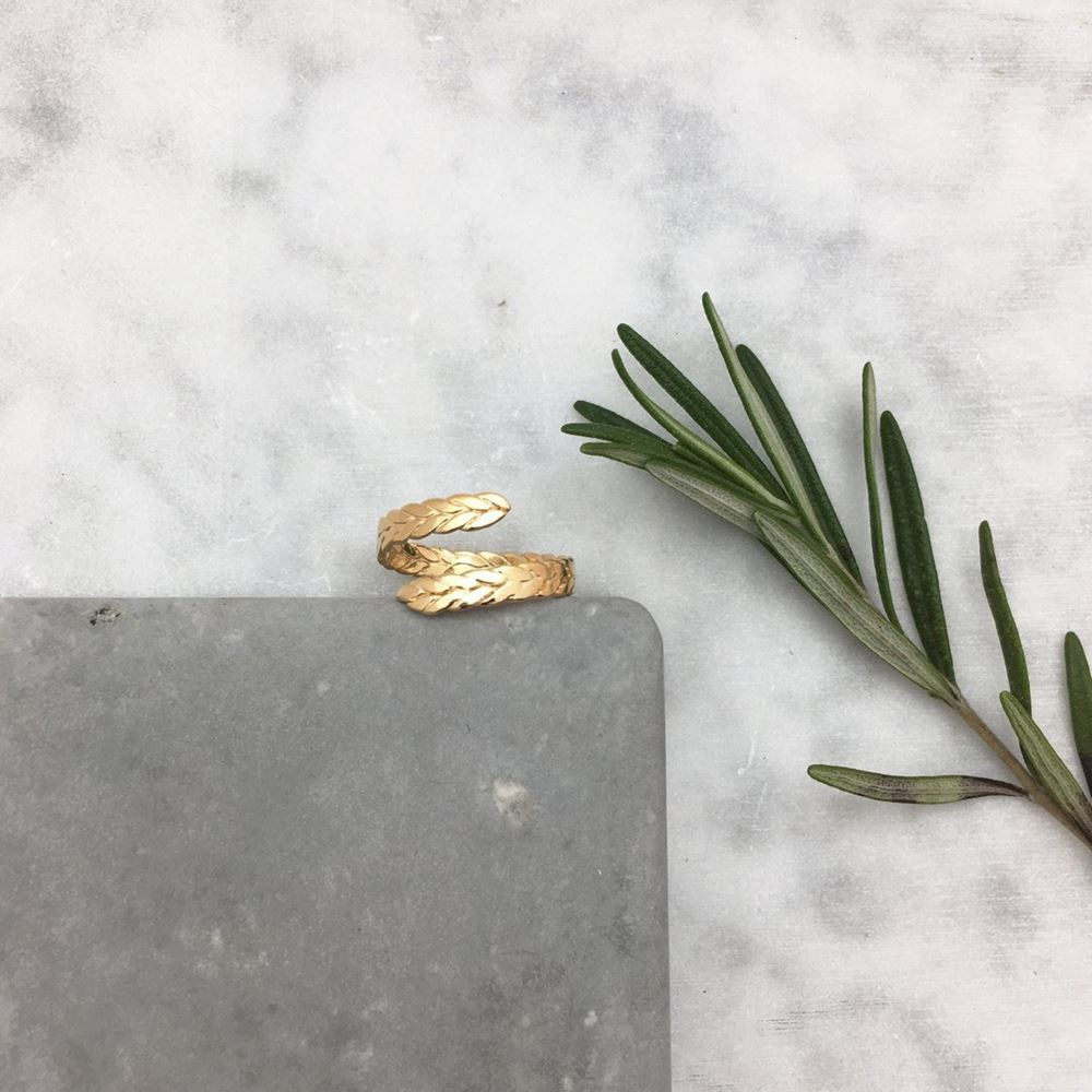 Ring Anna (gold plated)