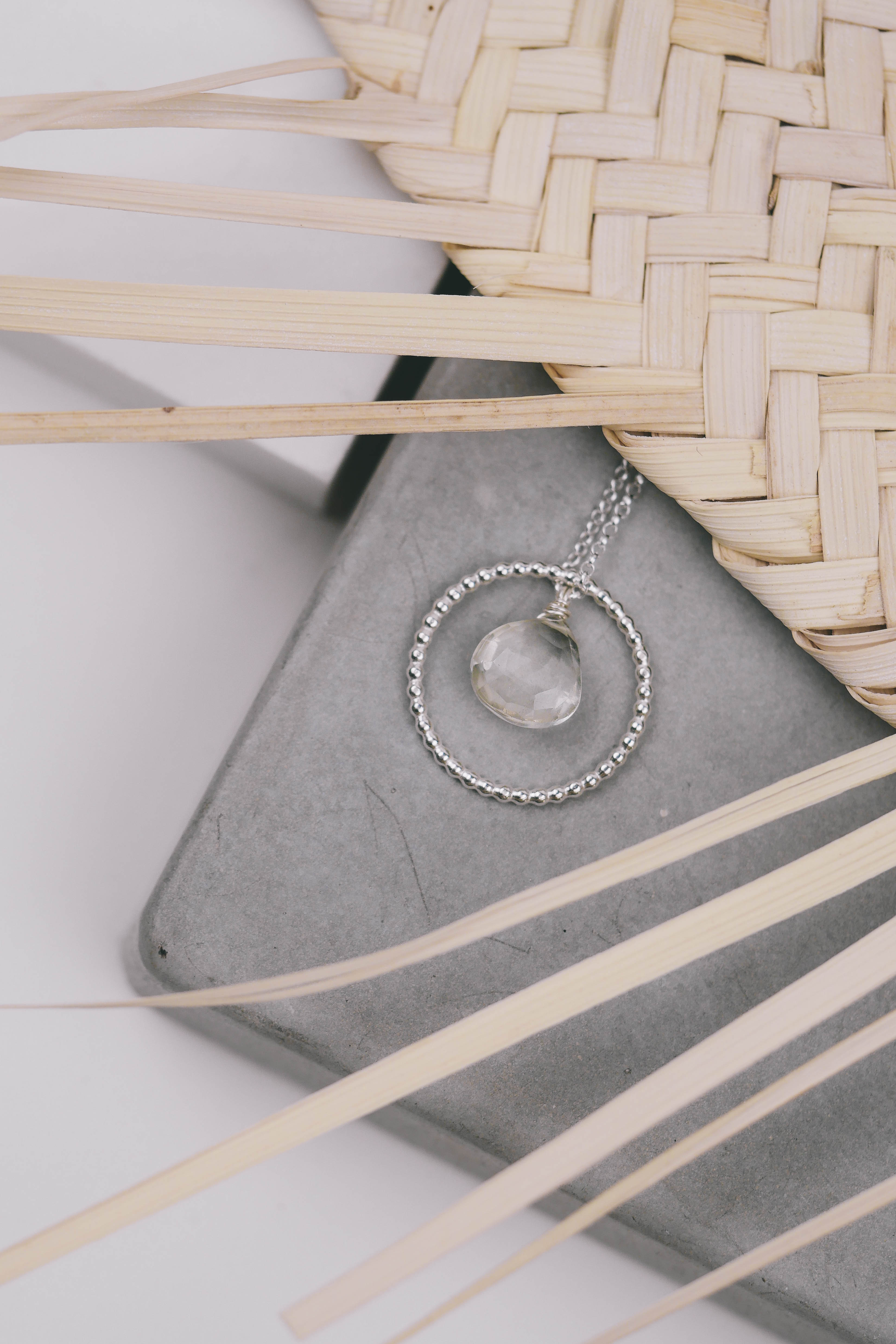 Necklace/ring Jala (silver 925)