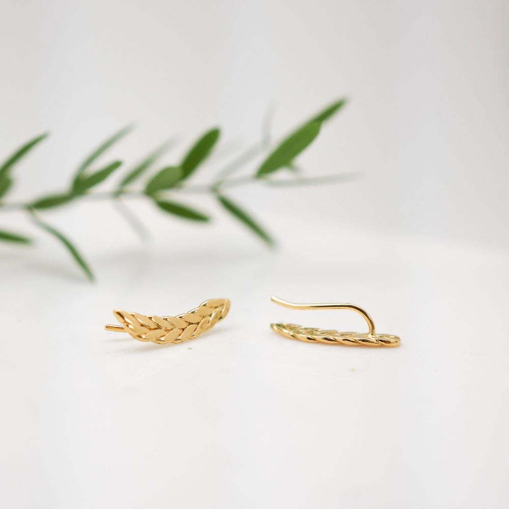 Earrings Anna (gold plated)