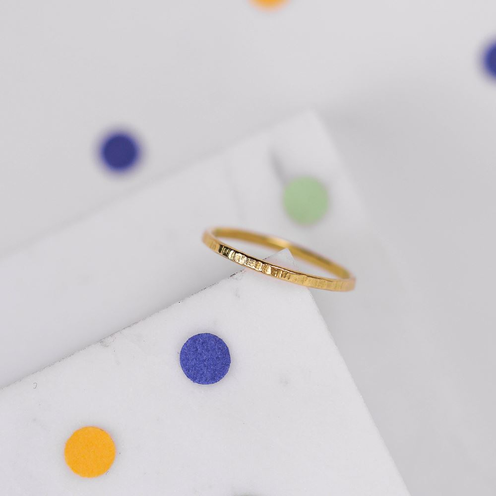"Ring ""Fée Clochette"" (18 ct gold)"