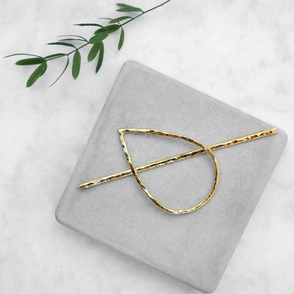 Hairpin Malia L (gold plated)