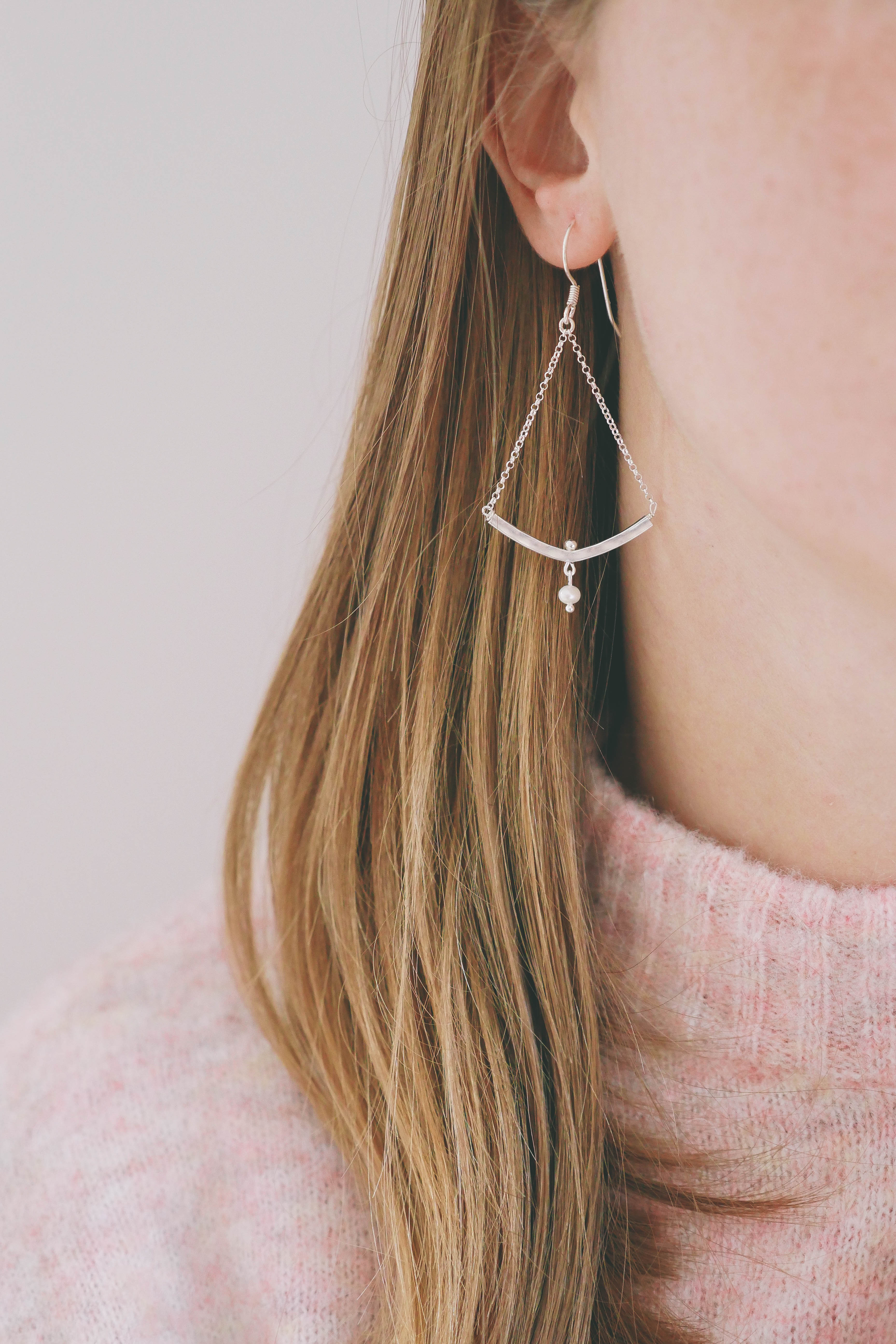 Earrings Nastasia (silver 925)