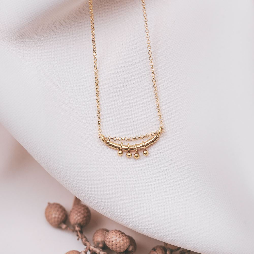 Necklace Romy gold plated