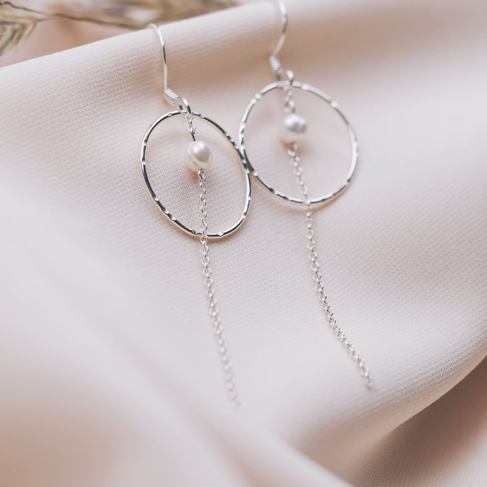 Earrings Grace silver