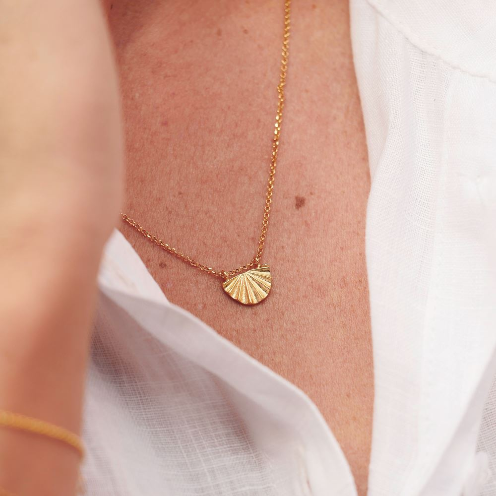 Necklace Céleste (gold plated)