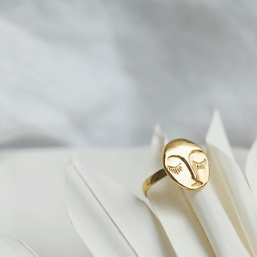 Ring Veilleuse (gold plated)