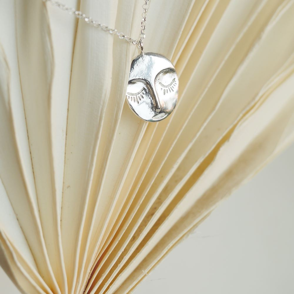 Necklace Veilleuse (silver 925)