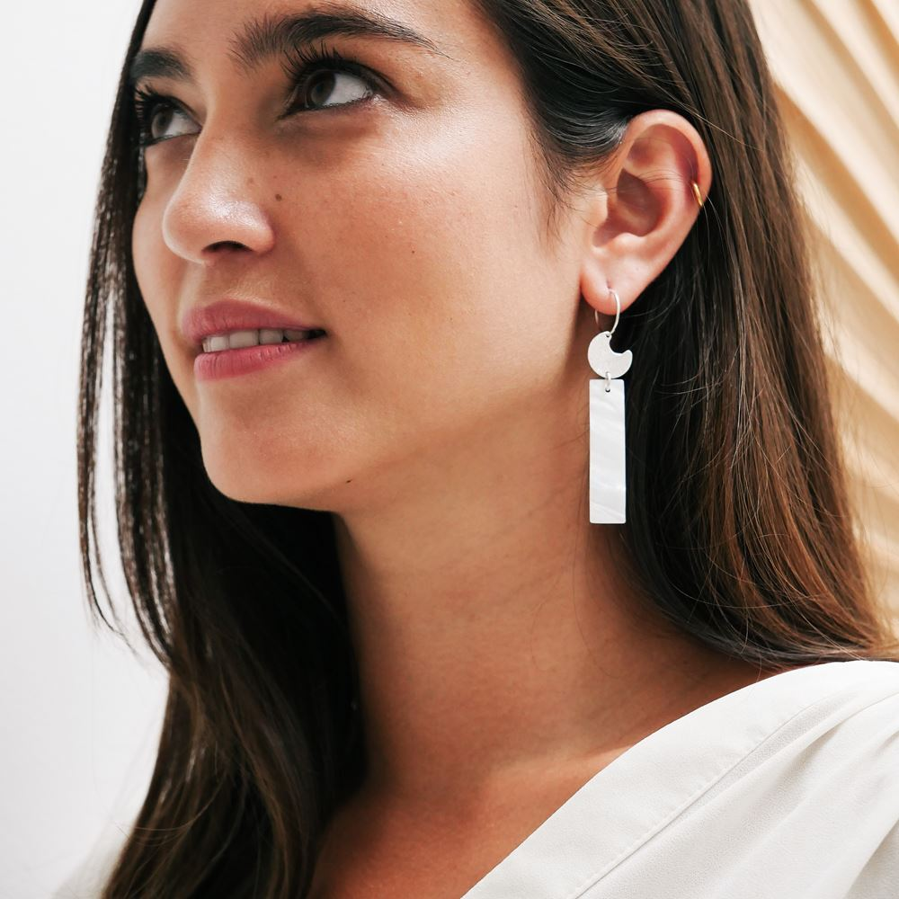Earrings Iseult (silver 925)