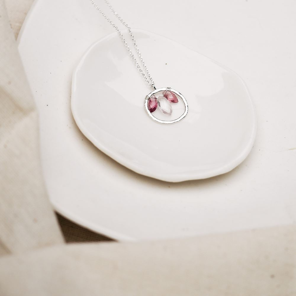 Necklace Aura - Love (silver 925)