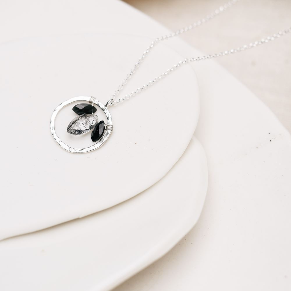 Necklace Aura - Protection (silver 925)