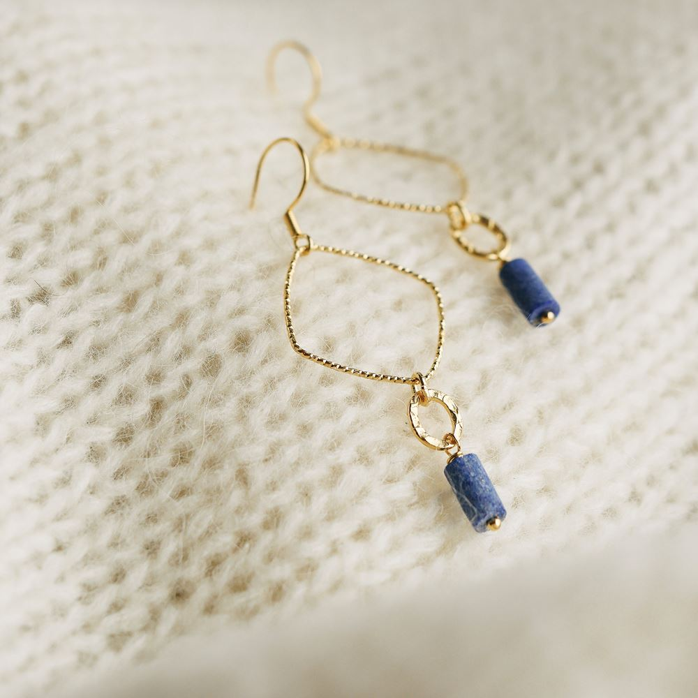 Earrings Béatrice (gold plated)