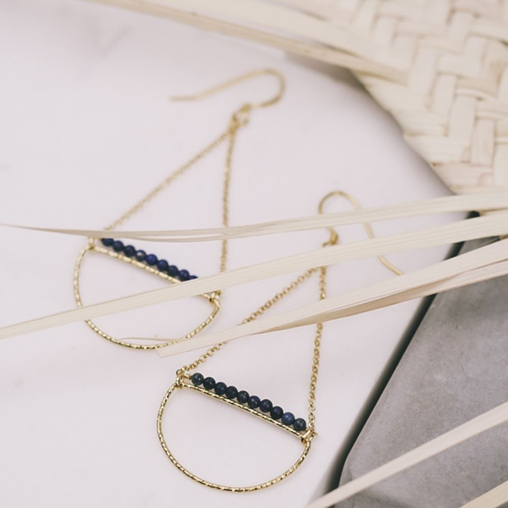 Earrings Assia (gold plated)